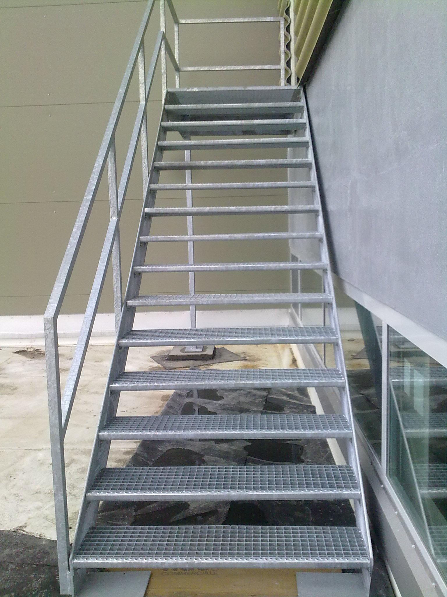 metallbau treppen